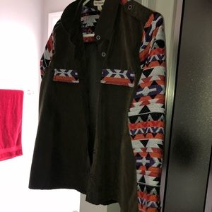 Tribal jacket/blouse